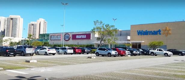 Estacionamento do Plaza Shopping Macaé