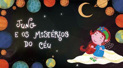 capa do livro juno e os mistérios do céu
