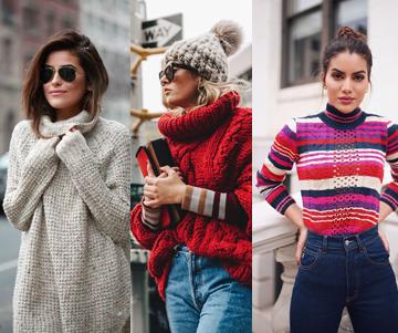 roupas de tricot