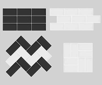 paginação de azulejos