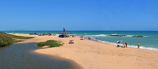 praia das pedrinhas em rio das ostras na divisa com macaé
