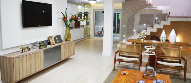 sala projetada por Soraia Lima