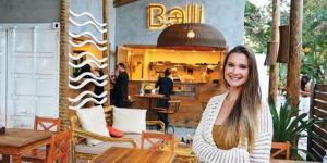 Mariana Mesquita Allevato inaugurou o Balli Sushi, no Pecado, em março deste ano.
