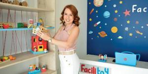 A empreendedora Isabel Tuñas não para. Além de administrar os Hotéis Royal Macaé, ela acaba de abrir a Facilitoy, uma loja de locação de brinquedos.