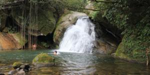 cachoeira do Poço Verde, em Crubixais, Macaé