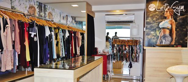 loja de moda fitnes